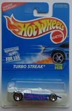 1996 Hot Wheels Turbo Streak Col. #470 (5 Spoke Hub Wheels)