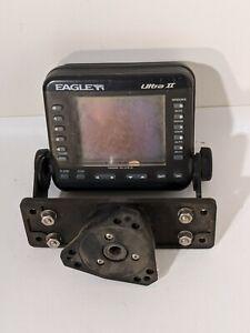 Eagle Ultra II 2 Fishfinder Sonar Fish Finder Replacement Head Unit w/ Bracket