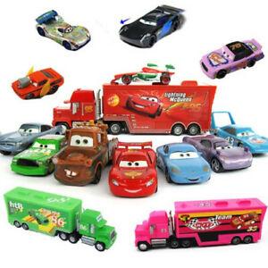 Pixar Cars1 Cars2 Cars3 No.86 95 51 43 Mack Truck Diecast Kids Boy Toy Xmas Gift