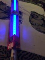 Star wars the force awakens  blue Rey's  light saber with sounds