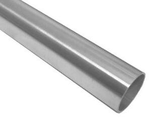 Edelstahlrohr 42,4 x 2mm 6,02m Rohr Edelstahl VA 1.4301 geschliffen Korn 240
