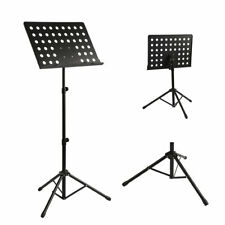 Heavy Duty Orchestral Sheet Music Conductor Stand Holder Tripod Base Foldable