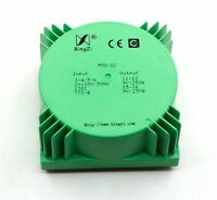 50VA Green square 50W Sealed toroidal transformers M50-02 AC dual 9V(2*9V)