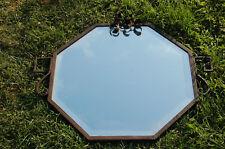 ART DÉCO Très beau miroir ancien en fer forgé - Bon état