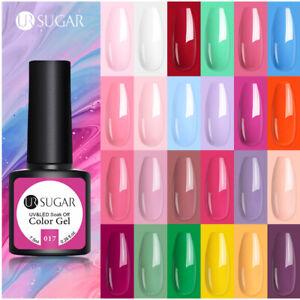 UR SUGAR 7.5ml Nail Art Vernis à Ongles Semi-permanent UV Gel Polish Soak Off