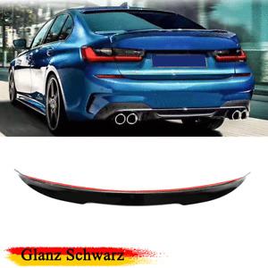 Glanz Schwarz Heckspoiler für BMW 3er G20 G28 330i Spoiler Abrisskante Hecklippe