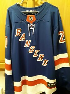 New York Rangers Chris Kreider Fanatics Breakaway Jersey XL BNWT $170 MSRP