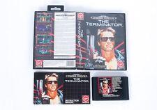 El terminador En Caja-Sega Mega Drive PAL Cartucho De Juego