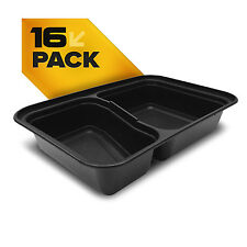 Official Fitpacker DUO Containers - Meal Prep - Lunch/Bento Box - 16 pack