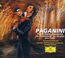 Salvatore Accardo, N. Paganini - Violin Concerti 1-6 [New CD]