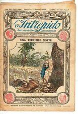 rivista L'INTREPIDO ANNO 1924 NUMERO 222