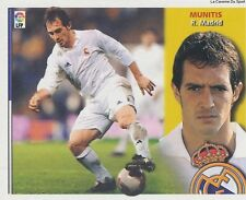MUNITIS # ESPANA REAL MADRID LIGA 2003 ESTE STICKER CROMO