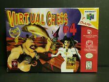 Virtual Chess 64 (Nintendo 64, 1998) N64 Factory Sealed Brand New RARE!