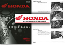 Honda NSA700 DN01 Service Workshop Repair Shop Manual NSA700A DN-01 NSA 700