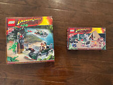 Lego 7624 & 7625 Indiana Jones complete sets, USED all instructions/pieces/boxes