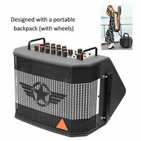 Acoustic Electric Guitar Amplifier Speaker Bluetooth Recharge for Live Broadcast