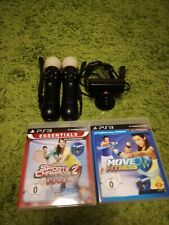 Playstation Move Controller Ps3/Ps4 Twin Pack + Kamera + Spiele