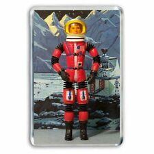 MATTEL MAJOR MATT MASON (RED) ASTRONAUT FIGURE  JUMBO FRIDGE / LOCKER MAGNET