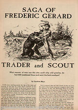 Trader and Scout, Frederic Gerard Genealogy