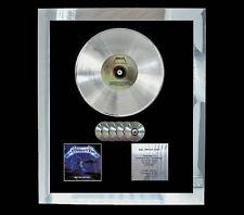 METALLICA RIDE THE LIGHTNING   MULTI (GOLD) CD PLATINUM DISC FREE POSTAGE!!