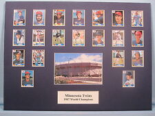 Minnesota Twins -  1987 World Champions