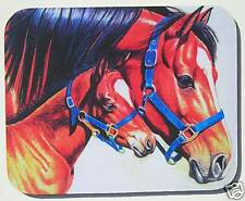 Mare & Foal Horse Equestrian art mouse Pad
