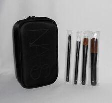 Nars Travel Brush Set ~ 4 Brushes & Pouch ~ BNIB