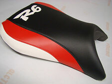 YAMAHA 1999- 02 YZF R6 FRONT SEAT COVER black/red/white 99 00 01 02