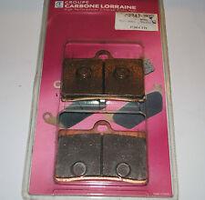 2 plaquette de frein ar. carbone lorraine NORTON F-1 P55 B MODEL de 1990-1991