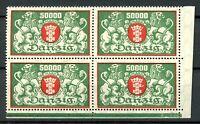 Danzig 4er Block MiNr. 149 postfrisch MNH (H136