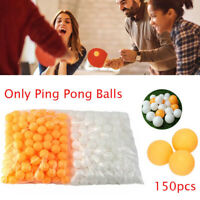 150pcs/Bag Table Tennis Balls 40mm Diameter Ping Pong Balls Training Competition