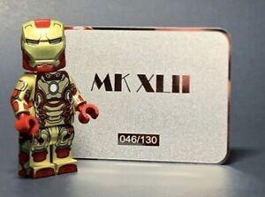 Custom Lab9 Minifigs Iron Man MK42 Armor Prodigal Son **MINT Sold Out Rare**