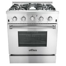 Thor Kitchen HRG3080U 30inch Professional Style Gas Range with 4-Burner and Oven