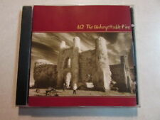 U2 THE UNFORGETTABLE FIRE CANADA PRESS ISSUED CD ISLAND CID-102/UPC 060439010223