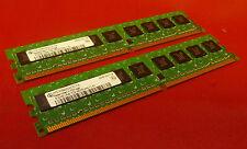 KIT 1GB Infineon hys72t64000hu-3.7-DDR2 Non-ECC Desktop Memory Ram PC2-4200E