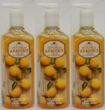 3 Bath & Body Works GOLDEN APRICOT Deep Cleansing Hand Soap