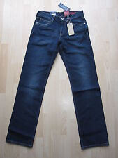 BNT Tommy Hilfiger Designer Madison S W32 L35.5 Mens Jeans Tall Long Vint Da Blu