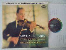 Paganini Violin Concerto No.1 Wieniawski No.2 Michael Rabin Goossens SP 8534 F