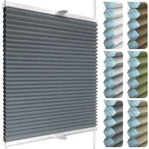 Waben-Plissee für Fenster & Tür mit Klemmhaltern | Klemmfix ohne Bohren
