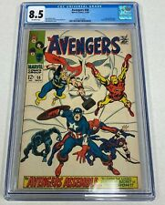 AVENGERS #58 MARVELS COMIC BOOK 11/68 CGC 8.5 OFF-WHITE PAGES
