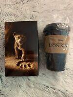 The Lion King 2019 Movie Promo Travel Coffee Mug New