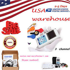 USA seller,24 hours 3 Channel ECG ECG/EKG Holter Monitor System TLC9803,CONTEC