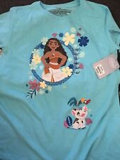 Moana Blue T Shirt Large (10/12)