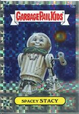 Garbage Pail Kids Chrome Series 1 X Fractor Refractor Base Card 13b SPACEY STACY