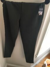 Ana A New Approach Deep Army Green Slim Fit Large Thick Leggings - NWT