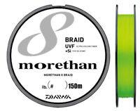 Daiwa UVF MORETHAN SENSOR 8 BRAID+Si Braided PE Line 150m Select # Free Shipping