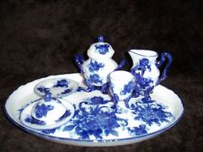 Childs Tea Set - Blue and White