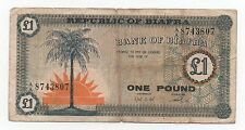 BIAFRA 1 POUND 1967 PICK 2 LOOK SCANS