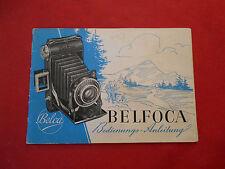 Belfoca Belca Bedienungsanleitung ca.10,5x15cm