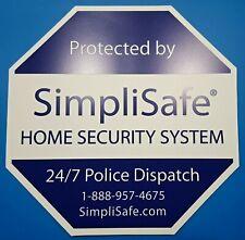 New SimpliSafe Home Security Alarm System Yard Sign